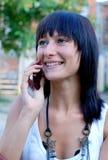 Adolescente no telefone Foto de Stock