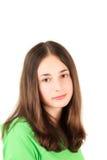 Adolescente novo Fotografia de Stock Royalty Free
