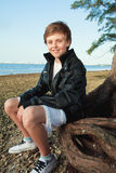 Adolescente novo considerável Imagem de Stock