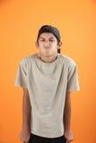 Adolescente obstinado Imagen de archivo