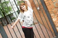 Adolescente ocasional Foto de archivo
