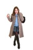 Adolescente ocasional vestido Foto de archivo