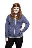 Sonrisa ocasional vestida del adolescente Fotografía de archivo libre de regalías