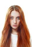 Adolescente pelirrojo hermoso Imagen de archivo