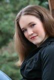 Adolescente pensativo Foto de Stock Royalty Free