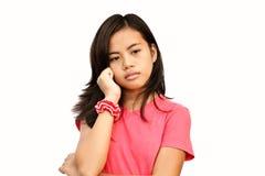 Adolescente pensativo Foto de archivo libre de regalías