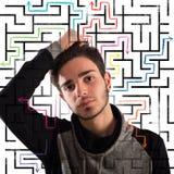 Adolescente pensativo Fotografía de archivo libre de regalías