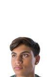 Adolescente pensativo que mira lejos Imagen de archivo