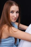 Adolescente piacevole 02 Fotografie Stock