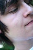 Adolescente piense Foto de archivo