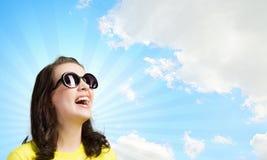 Adolescente positivo Fotos de archivo libres de regalías
