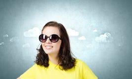 Adolescente positivo Imagen de archivo