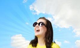 Adolescente positivo Imagem de Stock