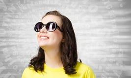 Adolescente positivo Fotografia Stock