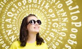 Adolescente positivo Imágenes de archivo libres de regalías