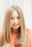 Adolescente positivo Imagem de Stock Royalty Free