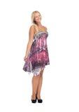 Adolescente precioso en vestido elegante Fotografía de archivo libre de regalías