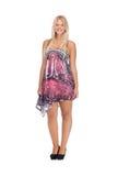 Adolescente precioso en vestido elegante Imagen de archivo