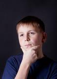 Adolescente premuroso Fotografia Stock