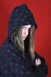 Adolescente preocupada Imagen de archivo libre de regalías
