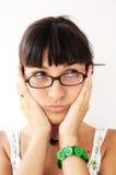 Adolescente preocupado Imagem de Stock