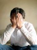Adolescente preocupado Imagen de archivo libre de regalías