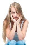Adolescente presionado Foto de archivo
