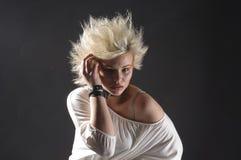 Adolescente punky femenino Imagen de archivo libre de regalías