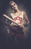 Adolescente punky preocupado Imagen de archivo libre de regalías