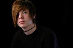 Adolescente que anticipa Fotografía de archivo libre de regalías
