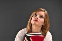Adolescente que Daydreaming Fotografia de Stock