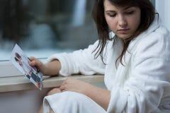 Adolescente que falta a su ex-novio Fotos de archivo libres de regalías