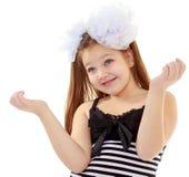 Adolescente que gesticula con las manos Imágenes de archivo libres de regalías