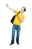 Adolescente que hace un selfie Imágenes de archivo libres de regalías