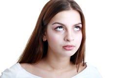 Adolescente que la rueda ojos Foto de archivo libre de regalías