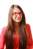 Adolescente que mira para arriba Fotos de archivo libres de regalías