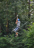 Adolescente que relampaga abajo Imagen de archivo