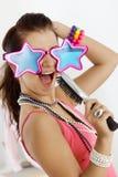 Adolescente que se divierte Fotografía de archivo libre de regalías