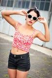 Adolescente rebelle Photographie stock