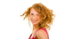 Adolescente Redhaired fotografia de stock