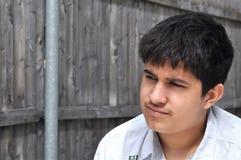 Adolescente reflexivo Fotografía de archivo libre de regalías