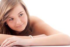 Adolescente relajante Fotos de archivo