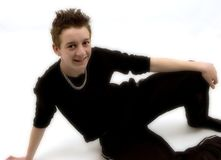 Adolescente Relaxed Fotos de Stock Royalty Free