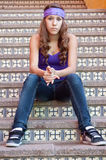 Adolescente resistente Imagens de Stock