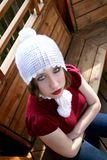 Adolescente ribelle Fotografia Stock