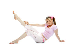 Adolescente rosado Imagen de archivo