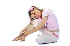 Adolescente rosado Imagenes de archivo