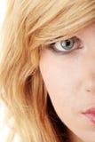 Adolescente rubio Fotografía de archivo