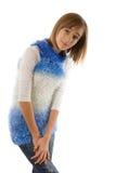 Adolescente rubio Foto de archivo libre de regalías