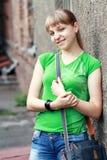 Adolescente rubio Imagenes de archivo